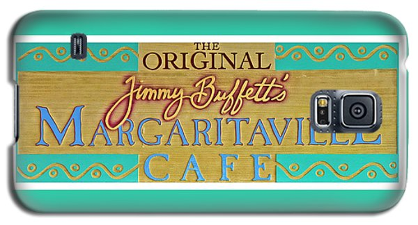 Jimmy Buffetts Margaritaville Cafe Sign The Original Galaxy S5 Case