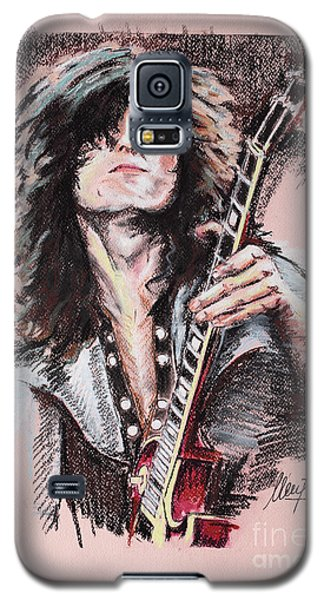 Jimmy Page Galaxy S5 Case by Melanie D