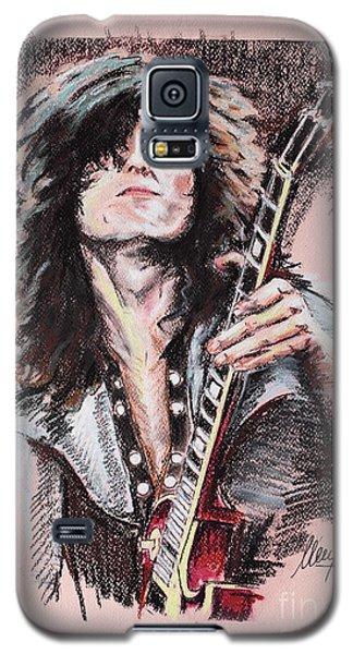 Jimmy Page Galaxy S5 Case by Melanie D