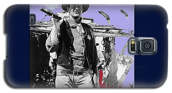 John Wayne Rio Bravo Publicity Photo 1959 Old Tucson Arizona Galaxy S5 Case