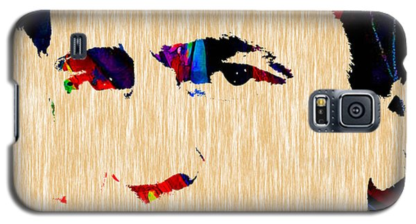 Johnny Cash Collection Galaxy S5 Case by Marvin Blaine