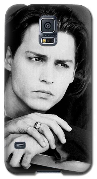 Johnny Depp Galaxy S5 Case