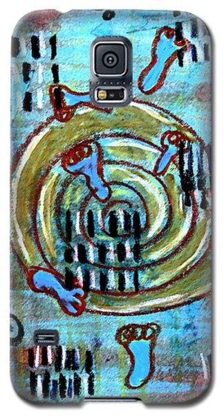 Journey To True Self Galaxy S5 Case by Patricia Januszkiewicz