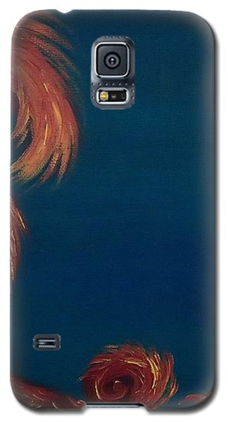 Galaxy S5 Case featuring the painting Jumbie Under De' Ocean by Robert Nickologianis