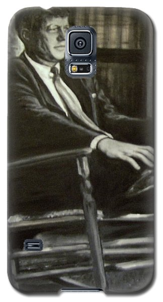 Kennedy In His Rocking Chair Galaxy S5 Case