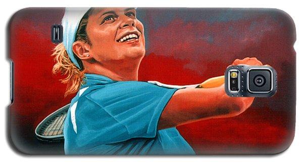 Kim Clijsters Galaxy S5 Case by Paul Meijering