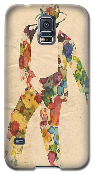 King Of Pop In Concert No 6 Galaxy S5 Case