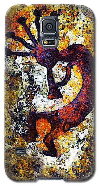 Kokopelli The Flute Player Galaxy S5 Case by Barbara Snyder