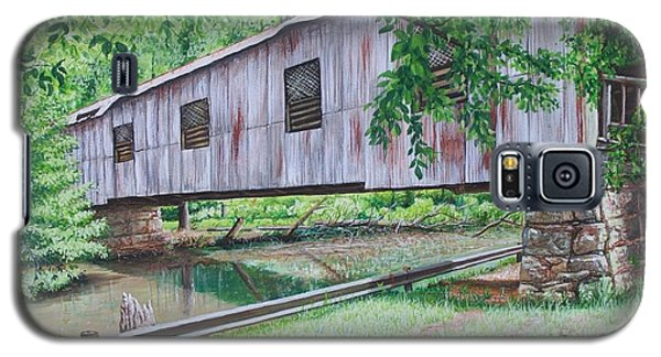 Kymulga Covered Bridge Galaxy S5 Case by Mike Ivey