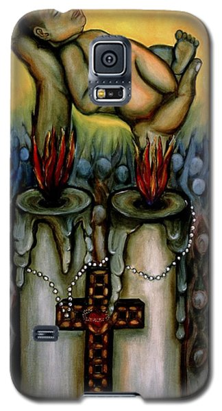 Religious Galaxy S5 Case - La Salvacion by Yovannah Diovanti