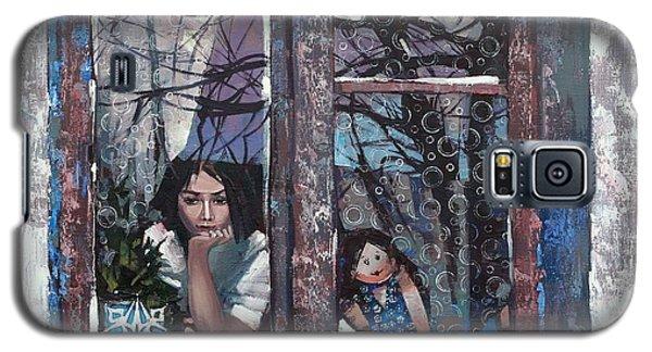 lady Winter Galaxy S5 Case by Anastasija Kraineva