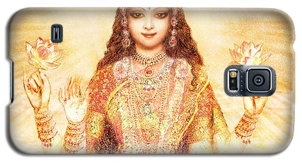 Lakshmi The Goddess Of Fortune And Abundance Galaxy S5 Case by Ananda Vdovic