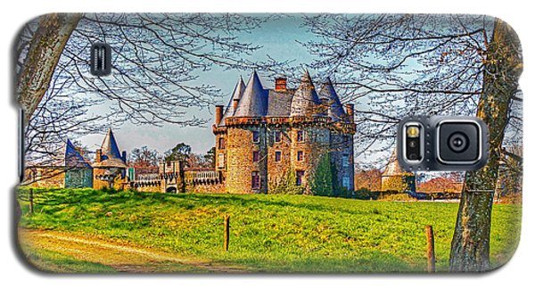 Galaxy S5 Case featuring the photograph Chateau De Landale by Elf Evans