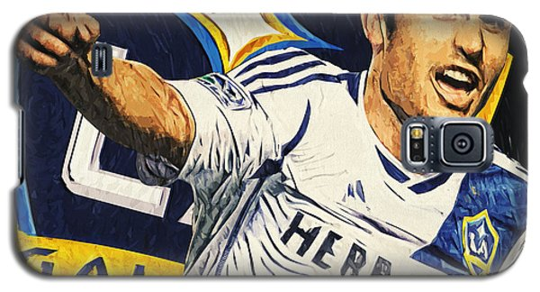 Landon Donovan Galaxy S5 Case by Taylan Apukovska
