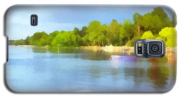 Landscape Of The Balaton Lake Galaxy S5 Case