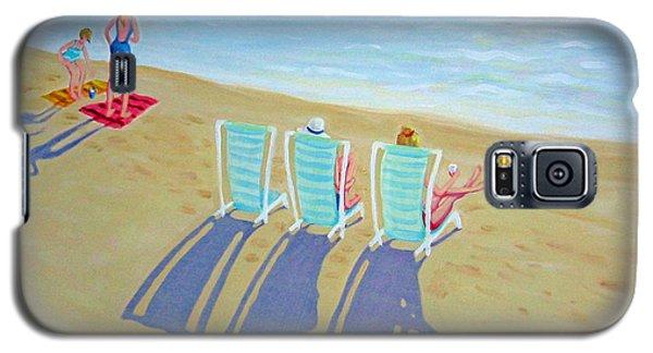 Sunset On Beach - Last Rays Galaxy S5 Case