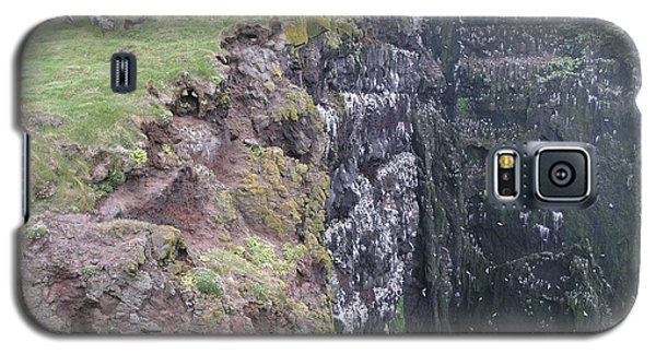 Galaxy S5 Case featuring the photograph Latrabjarg by Christian Zesewitz