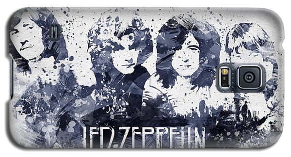 Led Zeppelin Portrait Galaxy S5 Case by Aged Pixel