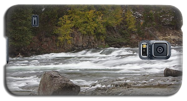 Galaxy S5 Case featuring the photograph Lehardy Rapids by Gerry Sibell