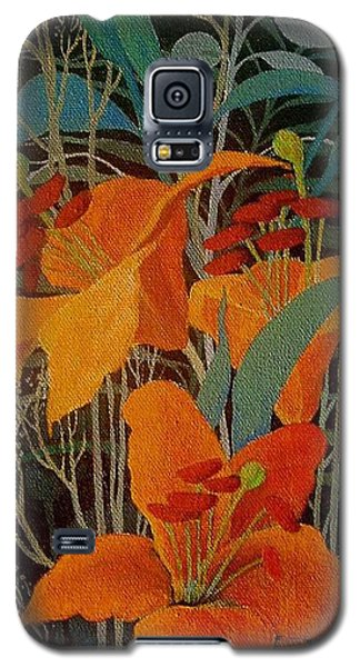 Lilies Galaxy S5 Case by Marina Gnetetsky