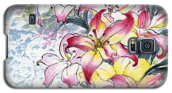 Lily  Galaxy S5 Case by Ping Yan