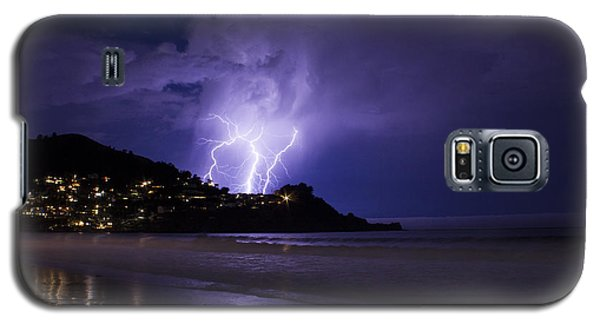 Lightning Over The Ocean Galaxy S5 Case