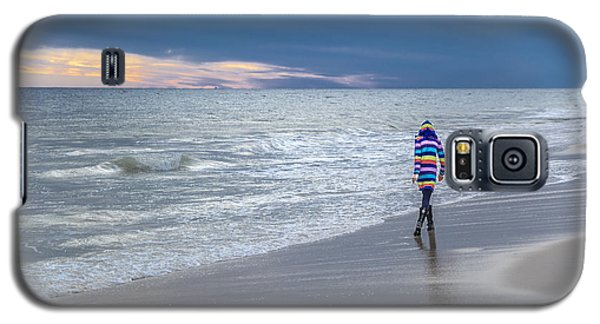 Little Girl At The Beache Galaxy S5 Case