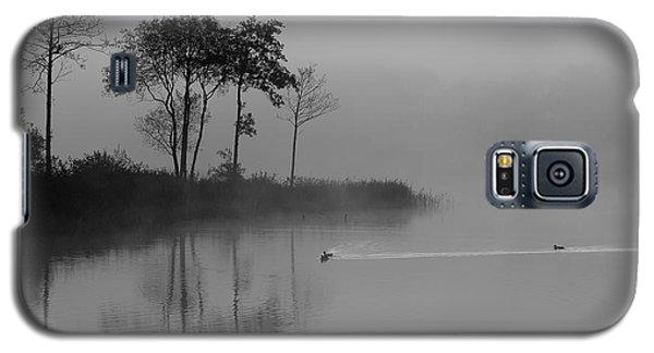 Loch Ard Trees In The Morning Mist Galaxy S5 Case