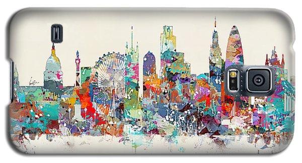 London City Skyline Galaxy S5 Case by Bri B