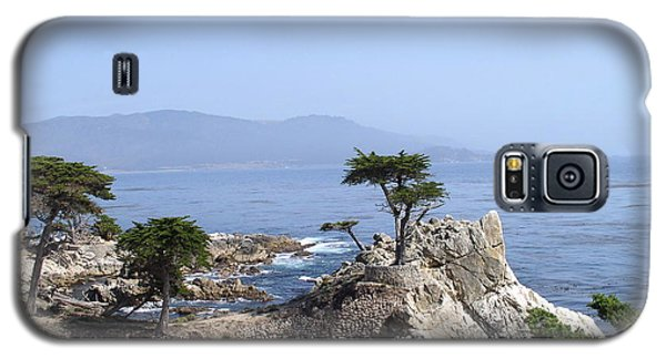 Galaxy S5 Case featuring the photograph Lone Cypress by Bev Conover