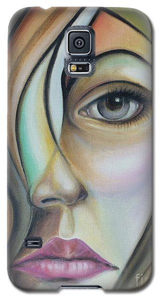 Galaxy S5 Case featuring the painting Lost 150808 by Selena Boron