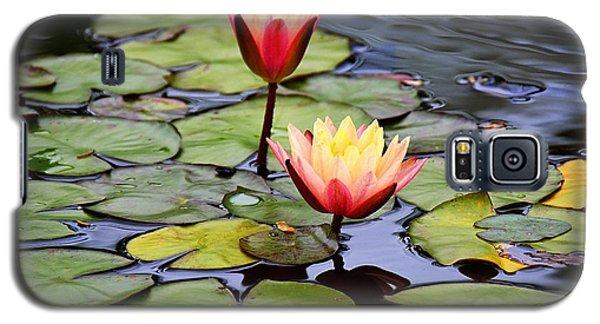 Lotus Galaxy S5 Case by Lisa L Silva