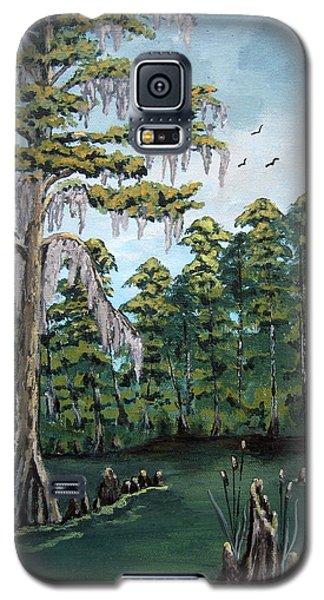 Louisiana Cypress Galaxy S5 Case