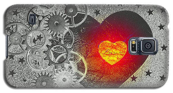 Love Makes It Work Galaxy S5 Case by Christine Ricker Brandt
