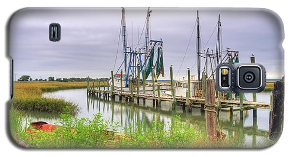 Lowcountry Shrimp Dock Galaxy S5 Case