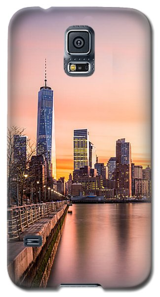 Lower Manhattan At Sunset Galaxy S5 Case