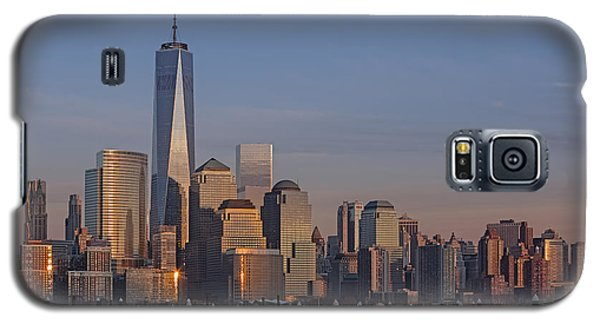 Lower Manhattan Skyline Galaxy S5 Case