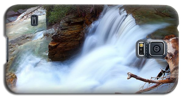Galaxy S5 Case featuring the photograph Lower Virginia Cascades by Aaron Whittemore