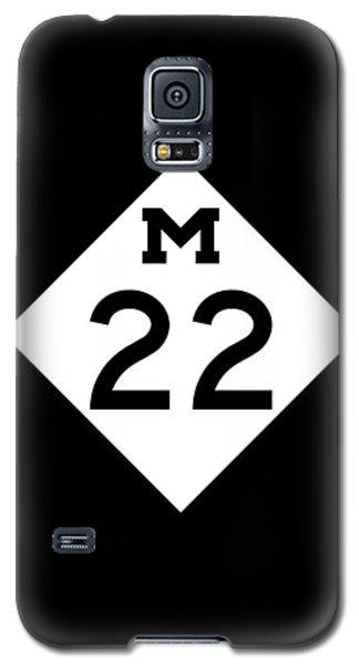M 22 Galaxy S5 Case