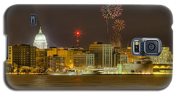 Madison New Years Eve Galaxy S5 Case by Steven Ralser