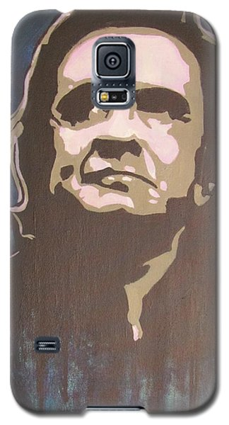 Man In Black And Blue Galaxy S5 Case