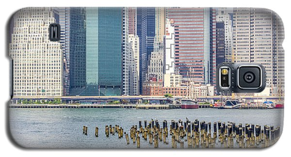Manhattan On The East River Galaxy S5 Case