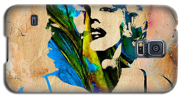 Marilyn Monroe Painting Galaxy S5 Case by Marvin Blaine