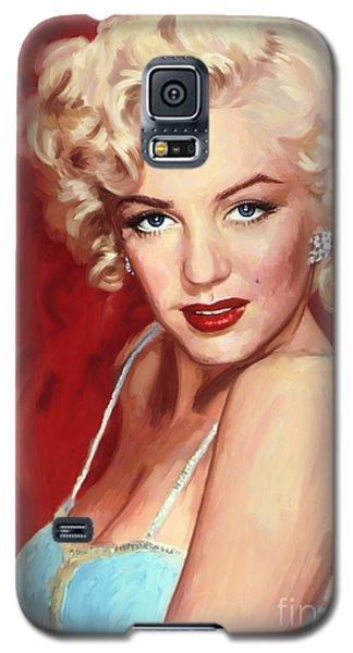 Marilyn Monroe Galaxy S5 Case by Tim Gilliland