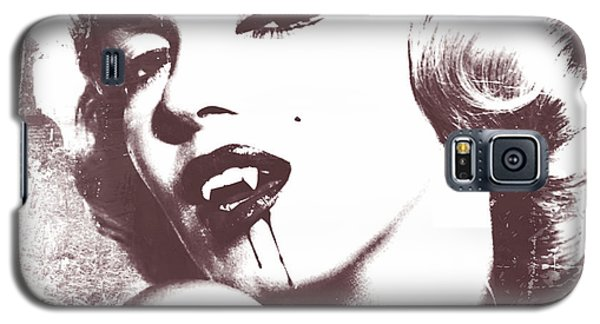 Marilyn Monroe Vampire Galaxy S5 Case by Mindy Bench