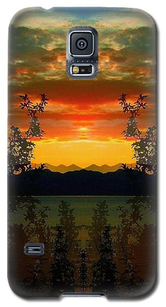 Galaxy S5 Case featuring the photograph Marsh Lake - Yukon by Juergen Weiss
