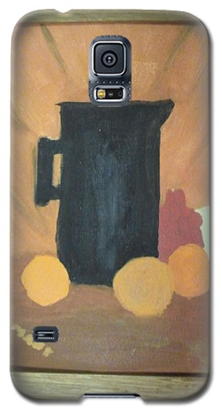 Galaxy S5 Case featuring the painting #1 by Mary Ellen Anderson