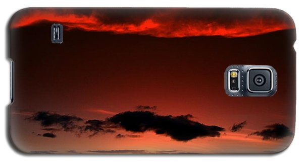 Galaxy S5 Case featuring the photograph Maui Sunset by Ron Roberts