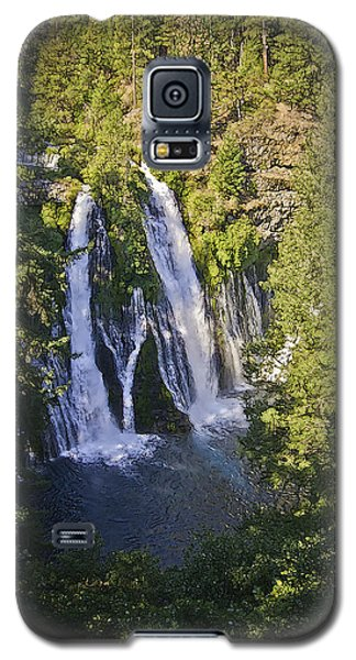 Galaxy S5 Case featuring the photograph Mcarthur-burney Falls by Sherri Meyer