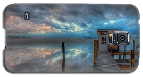 Melvin Village Marina In The Fog Galaxy S5 Case